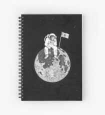 Lonely astronaut. Spiral Notebook