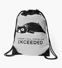 Maximum Call Stack Size Exceeded - Programming Drawstring Bag