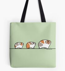 Mother Guinea-pig with Babies Tote Bag