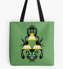 Zelda Triforce Ink Tote Bag