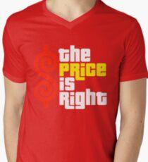 Price Is Right Men's V-Neck T-Shirt
