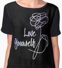 BTS - Love Yourself Black Version Chiffon Top