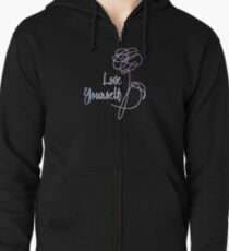 BTS - Love Yourself Black Version Zipped Hoodie