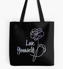 BTS - Love Yourself Black Version Tote Bag