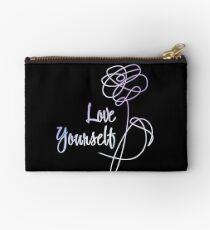 BTS - Love Yourself Black Version Studio Pouch