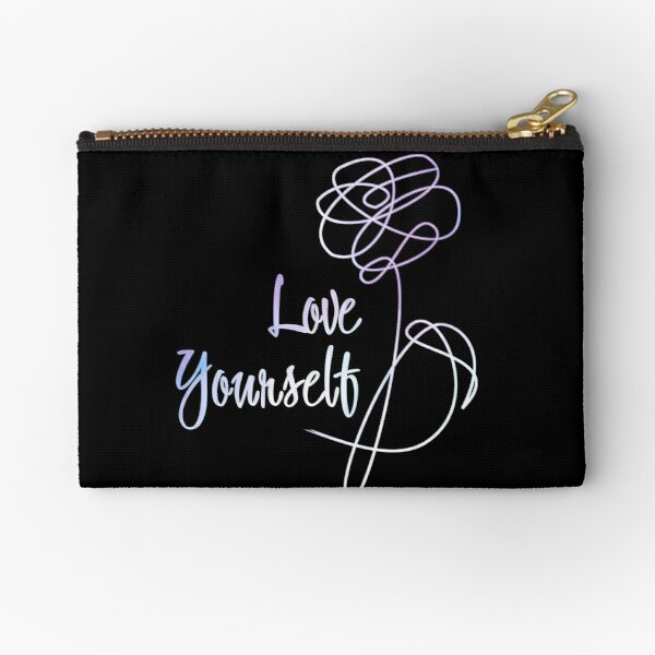 BTS - Love Yourself Black Version Zipper Pouch