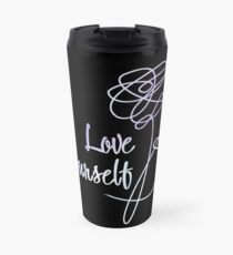 BTS - Love Yourself Black Version Thermobecher