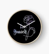 BTS - Love Yourself Black Version Clock