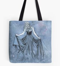 Night and her Train of Stars Tote Bag