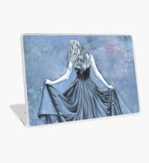 Night and her Train of Stars Laptop Skin