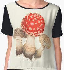 Mushrooms Chiffon Top