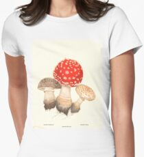 Mushrooms Women's Fitted T-Shirt