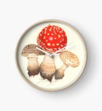 Mushrooms Clock
