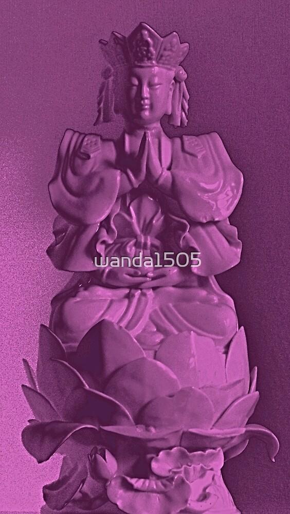 Buddha Purple Icon by wanda1505