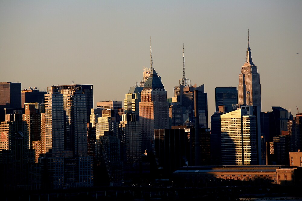 Towers of Manhattan by pmarella