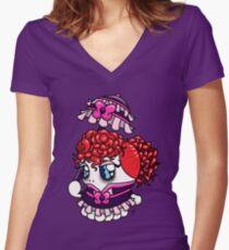 Lolita Tako-Chan Women's Fitted V-Neck T-Shirt