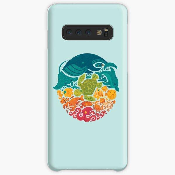Aquatic Rainbow (light blue) Samsung Galaxy Snap Case