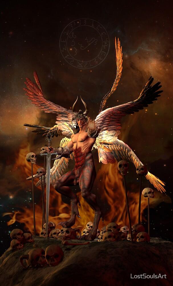 Lucifer by LostSoulsArt