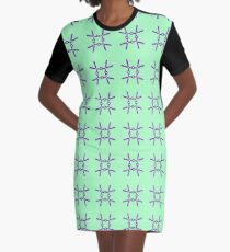 Scissors III Graphic T-Shirt Dress