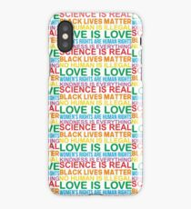 Human Rights & World Truths  iPhone Case/Skin