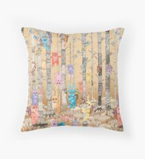 Bugaboo Forest Throw Pillow