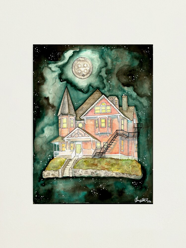 The Pink Palace Coraline Fan Art Photographic Print By Chrystakay Redbubble