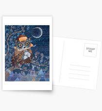 Owl mother Postcards