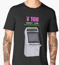 100 YEN ARCADE CABINET Men's Premium T-Shirt