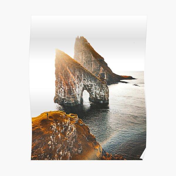 view of Faroe islands Poster