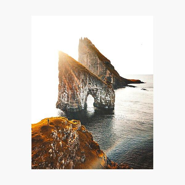 view of Faroe islands Photographic Print