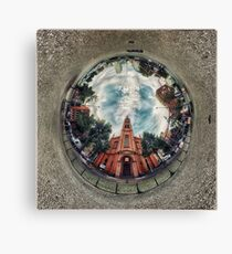 'Apostelkirche - 360º from Below' Canvas Print