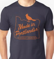 Made in Portlandia - locally sourced Unisex T-Shirt