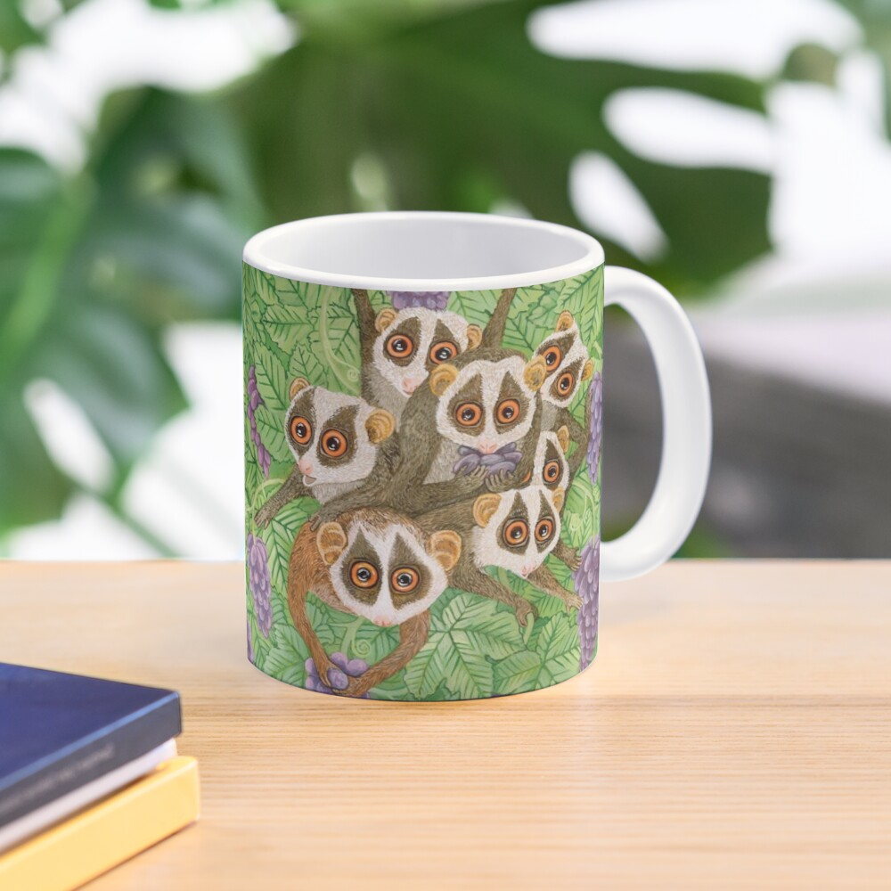 Monkey Loris Family Mug