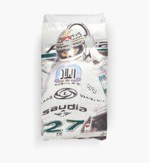 'Jonesy' 1980 F1 World Champion Duvet Cover