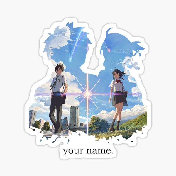 Kimi no na wa  your name. Sticker