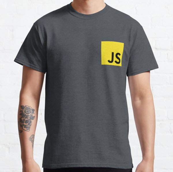 JavaScript Camiseta clásica