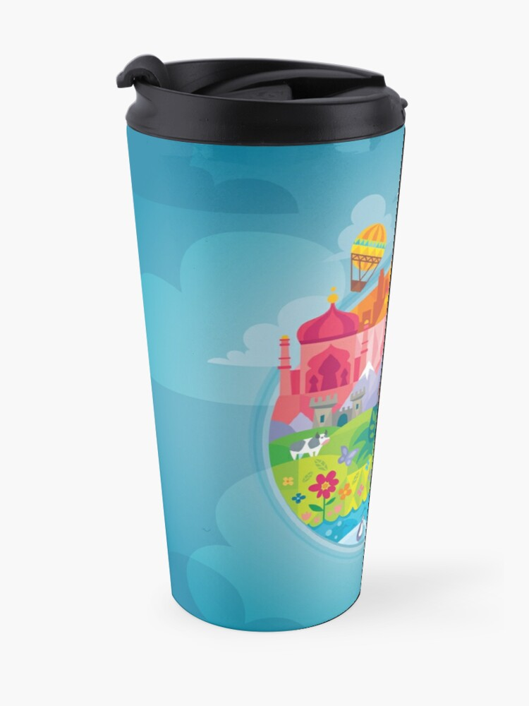 Alternate view of Small World Travel Mug