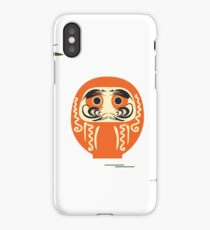Daruma - Japanese traditional doll roly-poly. iPhone Case/Skin