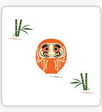 Daruma - Japanese traditional doll roly-poly. Sticker