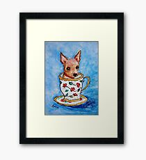 Teacup... Framed Print