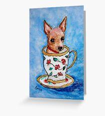Teacup... Greeting Card