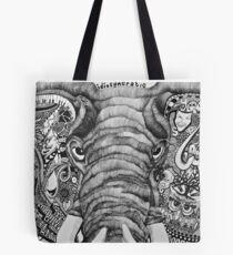 The Idiosyncratic Elephant Tote Bag