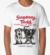 Sweeney Todd The Demon Barber of Fleet Street Long T-Shirt