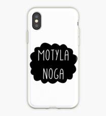 MOTYLA NOGA! iPhone Case
