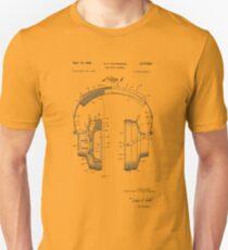 Headphone Assembly Patent T-Shirt