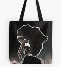 Africa Thinking Tote Bag