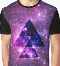 Galaxy Print Graphic T-Shirt