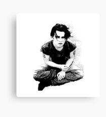 Johnny Depp fanart  Canvas Print