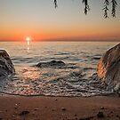 Port Albert Rocks by Brendan Buckley