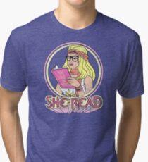 She-Read Tri-blend T-Shirt